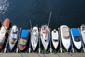 Parked Sailboats Stock Image - 21144351