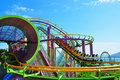 Roller Coaster Royalty Free Stock Photo - 21148025