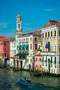 Grand Canal In Venice, Italy Royalty Free Stock Photo - 21154775