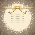 Frame With Lace Royalty Free Stock Photos - 21161718
