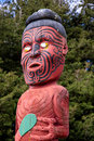 Maori Statue Royalty Free Stock Images - 21166329
