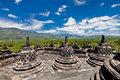 Borobudur Old Buddhist Temple In Yogyakarta, Java, Royalty Free Stock Photos - 21171418