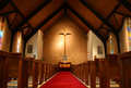 Inside Of A Church Stock Images - 2126794