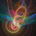 Colorful  Chaos Rings Royalty Free Stock Photo - 2127345