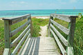 Walkway To Beach Stock Photography - 21219212