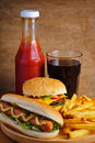 Fast Food Royalty Free Stock Images - 21221909