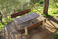 Picnic Area Royalty Free Stock Image - 21255776