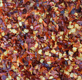 Full Frame Food Background:Hot Chili Pepper Flakes Stock Photos - 21262333