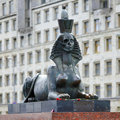 The Sphinx With Half Skull Face In Sant Petersburg Royalty Free Stock Images - 21263739
