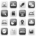 Set Of сomputer Buttons Royalty Free Stock Photo - 21272805