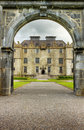Entrance To The Portumna Castle In Ireland. Stock Photography - 21291012