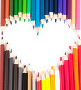 Set Of Color Pencils Royalty Free Stock Images - 21295889