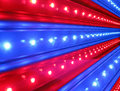 Red, Blue Disco Lighting, Power Details, Stock Images - 21312814