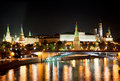 Russia, Moscow, Night View Royalty Free Stock Photography - 21329017