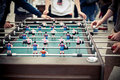 Table Football Players Royalty Free Stock Photography - 21334557