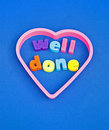 Well Done : Congratulations. Royalty Free Stock Image - 21347866