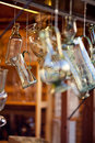 Decanters Of Bohemian Glass Royalty Free Stock Image - 21348826