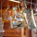Decanters Of Bohemian Glass Royalty Free Stock Image - 21349316