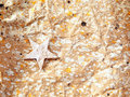 Christmas Star Background On Recycle Paper Stock Photo - 21383980