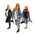 Country Line Dancing Girls Royalty Free Stock Photos - 21386008