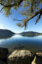 Morning Of Late Summer On The Lake Royalty Free Stock Image - 21389746