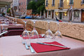 Restaurant In Venice Royalty Free Stock Photography - 21393327