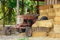 Old Tractor Royalty Free Stock Photo - 21396435