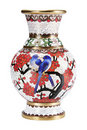 The Chinese Vase. Royalty Free Stock Photography - 21396837