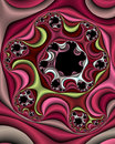 Satin Fabric Swirl Royalty Free Stock Image - 2140326