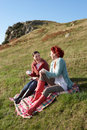 Women On Country Picnic Stock Photos - 21406763