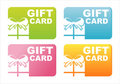 Colorful Gift Cards Stock Image - 21464501