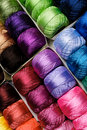 Color Threads Stock Photography - 21465142