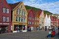 Old Traditional Buildings In Bergen Royalty Free Stock Images - 21469959