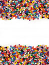 Multicolor Modelling Beads Stock Image - 21470101