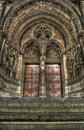 Steps To A Set Of Gothic Church Doors. Stock Images - 21470134