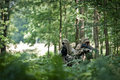 Special Forces Soldiers On Patrol Royalty Free Stock Image - 21480746