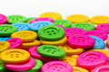 Buttons Of Many Colors Royalty Free Stock Image - 21481096