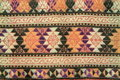 Embroidery Pattern On Fabric Royalty Free Stock Photo - 21486695