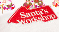 Santas Workshop Royalty Free Stock Photography - 21507577