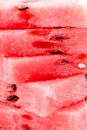 Sweet Red Melon Texture Stock Image - 21507991