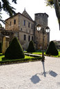 Yard Of Monastery In Narbonne Royalty Free Stock Photos - 21511468