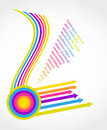 Colorful  Arrows Royalty Free Stock Image - 21533106