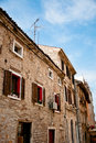 Old Traditional Istrian Stone Houses In Croatia Stock Photos - 21567943