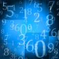 Random Numbers Royalty Free Stock Photography - 21582007
