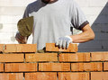 Bricklayer Royalty Free Stock Photo - 21592155