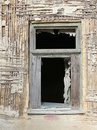 Window Of A Ruined House Royalty Free Stock Photo - 21599655