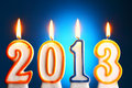 2013 Year Royalty Free Stock Photography - 21606797