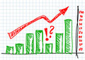 Drawing Of Graph Royalty Free Stock Photo - 21609365