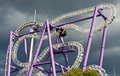 Rollercoaster Royalty Free Stock Photos - 21615438