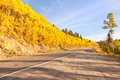 Road To Independence Pass In Colorado Stock Photography - 21627072